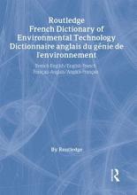 Dictionnaire Anglais Du G  nie de L environnement PDF