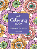 Posh Adult Coloring Book  Patterns for Peace