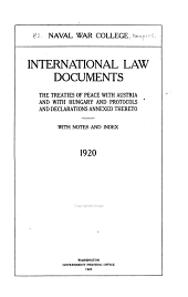 International Law Studies