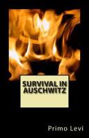 Survival in Auschwitz PDF