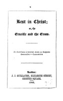 Rest in Christ  or  The crucifix and the cross PDF