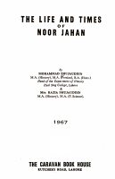 The Life and Times of Noor Jahan PDF