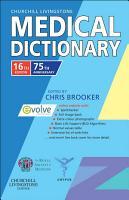 Churchill Livingstone Medical Dictionary E Book PDF
