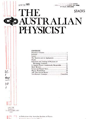 The Australian Physicist
