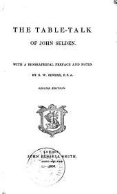 The table-talk of John Selden