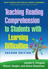 Teaching Reading Comprehension to Students with Learning Difficulties  2 E PDF