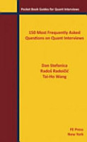 150 Most Frequently Asked Questions on Quant Interviews PDF