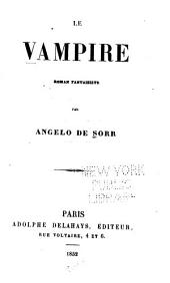 Le vampire: roman fantaisiste