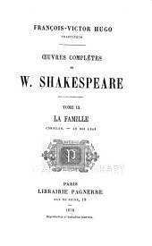 Oeuvres complètes de W. Shakespeare: Volumes9à10