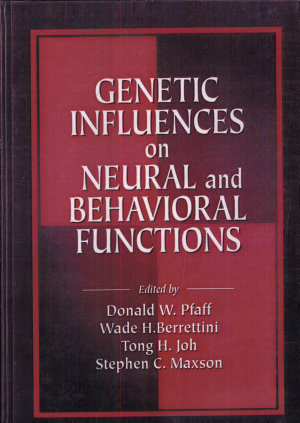 Genetic Influences on Neural and Behavioral Functions PDF