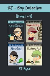 RJ - Boy Detective Books 1-4 Bundle