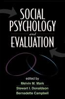 Social Psychology and Evaluation PDF
