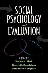 Social Psychology And Evaluation Book PDF