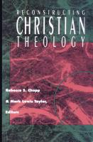Reconstructing Christian Theology PDF