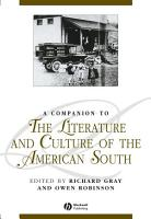 A Companion to the Literature and Culture of the American South PDF