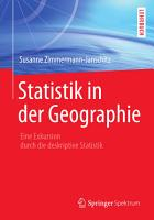 Statistik in der Geographie PDF