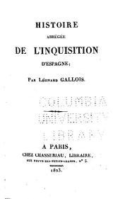 Histoire abrégée de l'inquisition d'Espagne