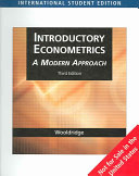 Introductory Econometrics PDF