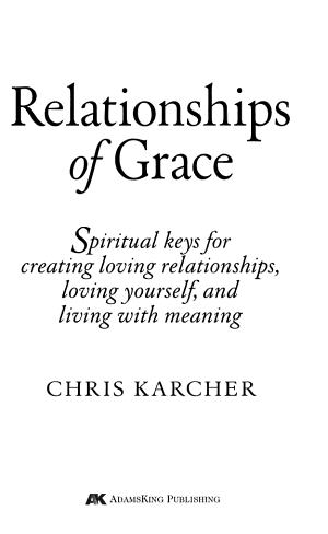 Relationships of Grace PDF