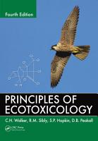 Principles of Ecotoxicology PDF