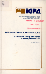 Identifying the Causes of Failure