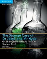 GCSE English Literature for AQA The Strange Case of Dr Jekyll and Mr Hyde Student Book PDF
