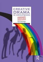 Creative Drama in Groupwork PDF