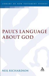 Paul's Language about God