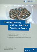 Java Programming with the SAP Web Application Server