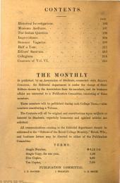 Beloit College Monthly: Volume 6