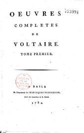 Oeuvres complètes de Voltaire: Volume1;Volume32
