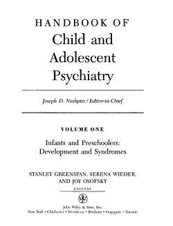 Handbook of child and adolescent psychiatry PDF