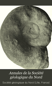 Annales de la Société géologique du Nord: Volume26