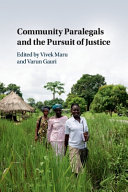 Community Paralegals and the Pursuit of Justice