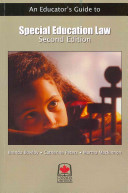 An Educator s Guide to Special Education Law Book