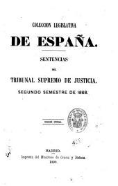 Sentencias del Tribunal supremo de justicia: año de 18, Parte 2