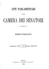 Atti parlamentari dello Senato: Volume 4