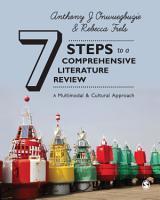 Seven Steps to a Comprehensive Literature Review PDF