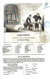Lorenzino drame en cinq actes et en prose Alexandre Dumas