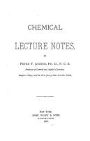 Chemical Lecture Notes PDF