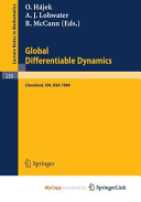 Global Differentiable Dynamics