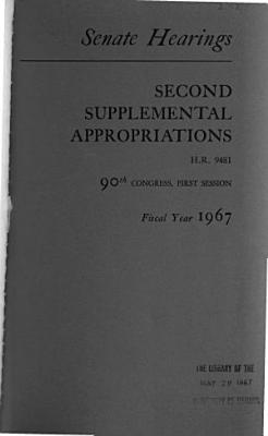 Second Supplemental Appropriations for Fiscal Year 1967