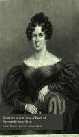Memoirs of mrs  Jane Gibson  of Newcastle upon Tyne PDF