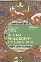 The Bloomsbury Research Handbook of Indian Philosophy of Language PDF