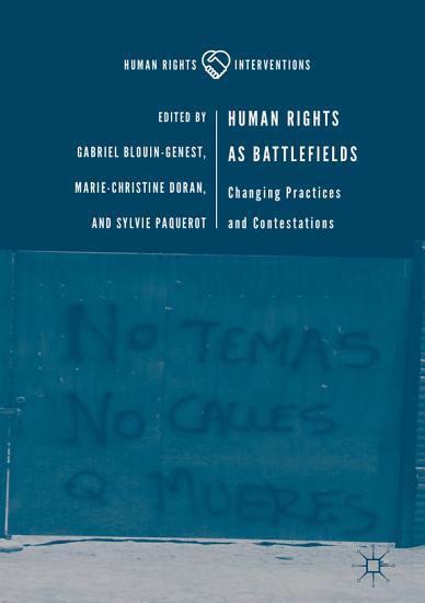 Human Rights as Battlefields PDF