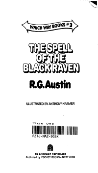 The spell of the black raven