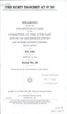 Cyber Security Enhancement Act of 2001 PDF