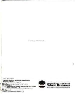 Washington Geology PDF