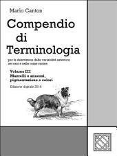 Compendio di Terminologia -: Volume 3