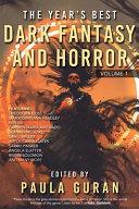 The Year's Best Dark Fantasy & Horror